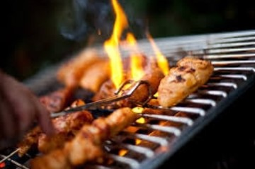Catering vrienden barbecue